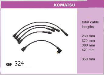 Высоковольтные провода KOMATSU