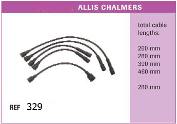 Высоковольтные провода ALLIS CHALMERS