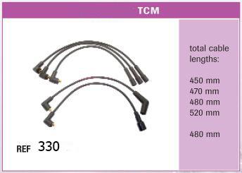 Высоковольтные провода TCM