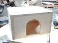 Домик для шиншиллы стандартный , с 2 входами Цена: 450 руб.