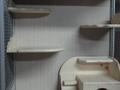 Витрина из профиля на две пары шиншилл