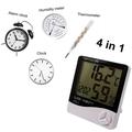 Термометр-гигрометр цифровой.