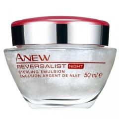 Ночная антивозрастная гель-сыворотка для лица с минералами Anew Reversalist 35+