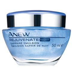 Ночная восстанавливающая гель-сыворотка  для лица с минералами Anew Rejuvenate