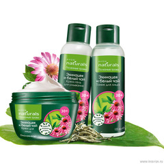 "Avon Naturals Полезные травы ""Эхинацея и белый чай"" 30+"