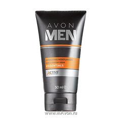 """Увлажняющий крем для лица """"Основной уход"""" Avon MEN Active Essentials"""