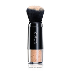 Рассыпчатая пудра для лица Avon shimmer glow dust с эффектом мерцания
