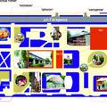 Карта парка аттракционов