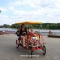 Фотографии набережной реки Сож в парке