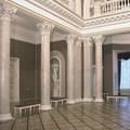 Залы дворца Румянцевых-Паскевичей