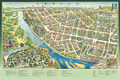 Mappa del centro di Gomel