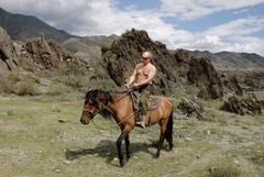 Путин на каникулах