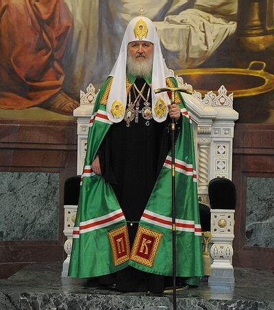 Патриарх Московский и Всея Руси Кирилл. Надежда  Толоконникова. Песни сердца…