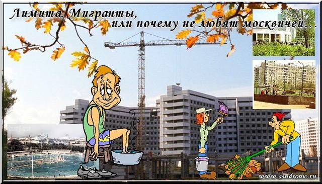 Лимита. Мигранты, или почему не любят москвичей…