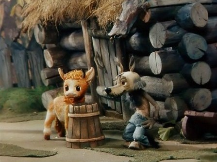 Волк и теленок (1984) DVDRip