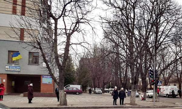 Хмельницкий  Майдан. Леонид Западенко