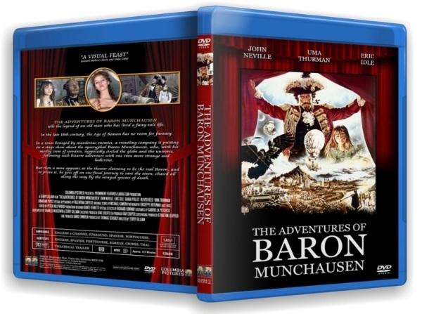 Приключения барона Мюнхгаузена. The Adventures of Baron Munchausen (1988) BDRip (720p)