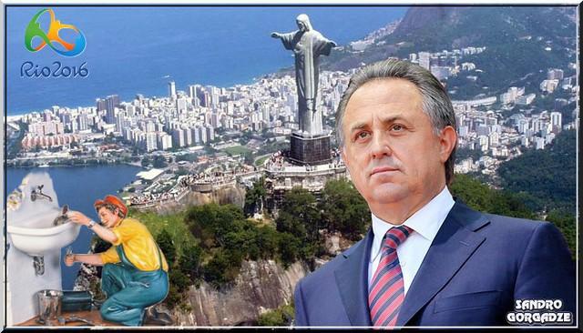 Dope. Russia. The Olympics in Rio de Janeiro where lots of wild monkeys.