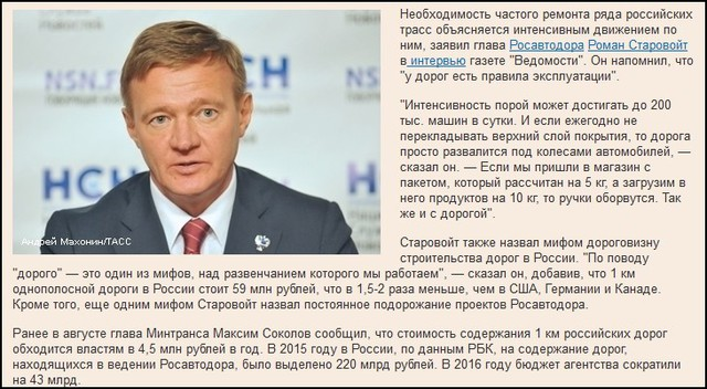 Россия. Успешные бизнесмены и эффективные  управленцы. Мифы и реальность…