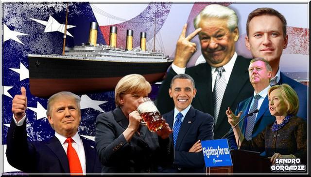 Идиоты всех стран соединяйтесь!!! Америка с Россией впереди планеты всей…