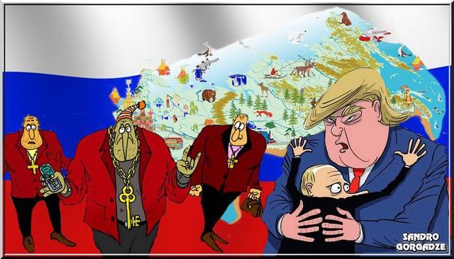 Россия. Остались одни понты…
