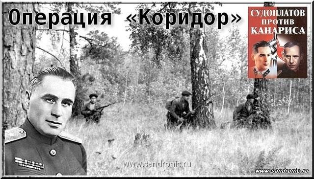 Разные дни тайной войны и дипломатии. 1941 год.П. А. Судоплатов.Операция «Коридор»
