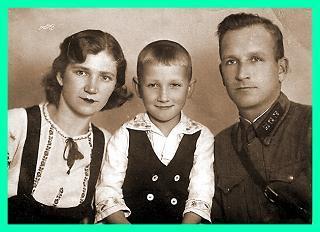 Папа и Мама.Леонид  Западенко