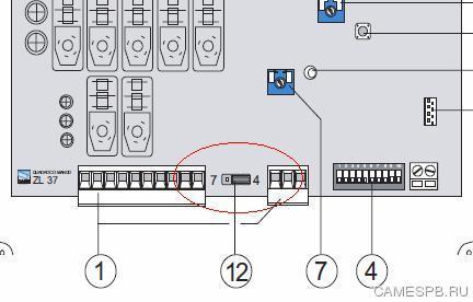 Как подключить кнопку открывания и закрывания шлагбаума G4000. Блок управления ZL 37.