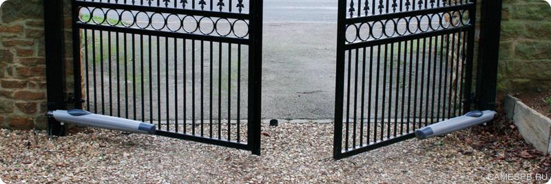 По автоматике для распашных ворот