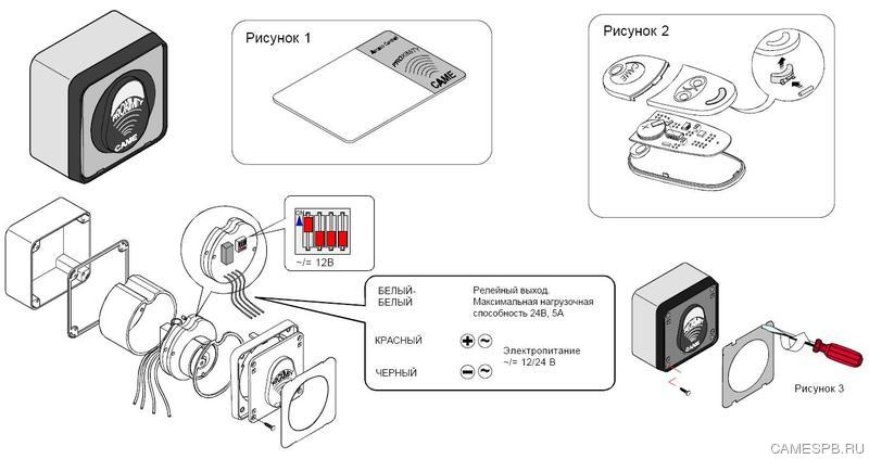 Нужно запрограммировать карточки доступа на шлагбауме CAME блок управления ZL37 подскажить как?