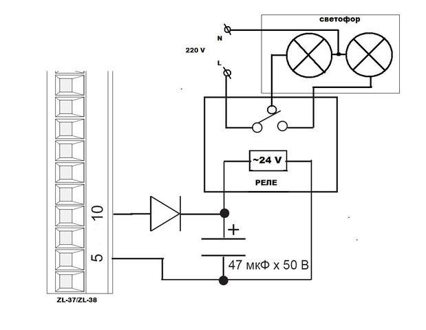 Как подключить светофор к шлагбауму фирмы Came G6000-6001. Чтобы при...