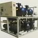 Средний и низкий температурный водоохлаждаемый винтовой холодильный агрегат
