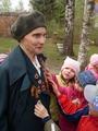 Встреча с ветеранами ВОВ. Пакина  Мария Васильевна