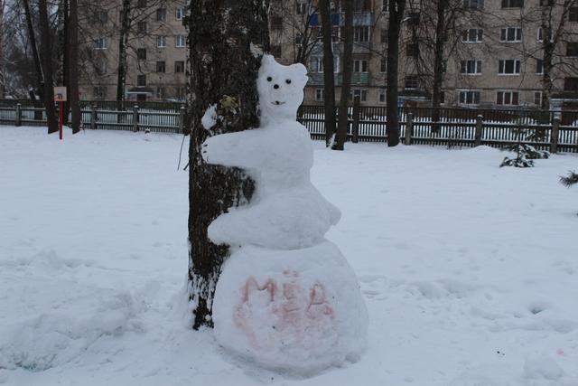 """Подведены итоги смотра-конкурса Зимние постройки из снега"""""""