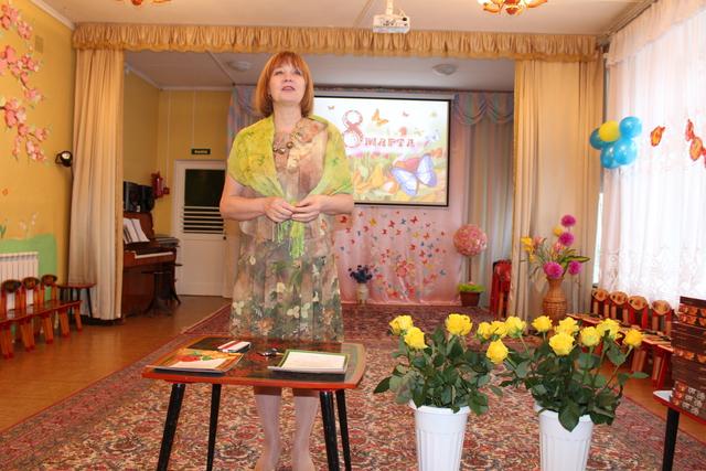 """Торжественное собрание, посвященное дню рождения дошкольного учреждения и международному женскому дню """"8 марта"""""""
