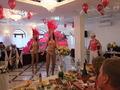 Свадьба в хрустальном зале в кафе Барракуда Томилино