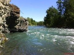Аржаан Шындазын у реки Хемчик