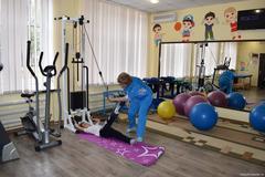 Реабилитация детей-инвалидов в ЦСРДИ г. Горловка.