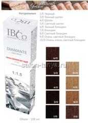 DIAMANTE ammonia free безаммиачный краситель 8 натуральных оттенков 100мл.