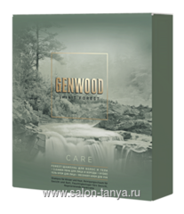 Набор GENWOOD CARE (шампунь, пена для лица и бороды, гель-крем для лица, крем для рук) GW/СR