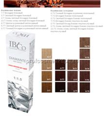 КОРИЧНЕВЫЕ 14 (оттенков) IBCO DIAMANTE ammonia free безаммиачный краситель 100мл.