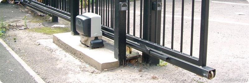 По автоматике для откатных ворот