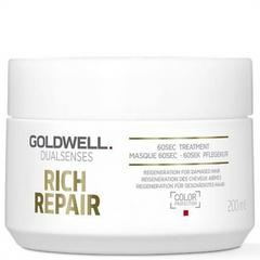 06139 DUALSENSES RICH REPAIR 60S маска 200 ml  Goldwell