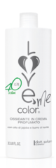 Окислитель 12% Love me color 1л. с запахом персика